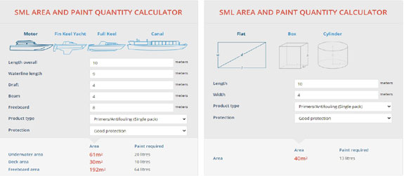 Paint Area Calculator